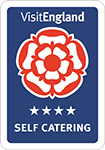 Visit England 4 star self catering holiday cottages